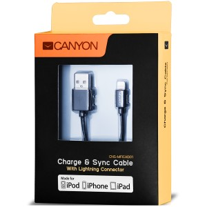 CANYON CNS-MFICAB01B kabel lightning 1m