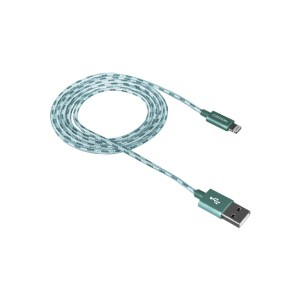 KABEL USB APPLE IPHONE IPOD 1M ZIELONY CANYON