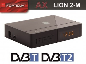 TUNER DVB-T/T2 Opticum  AX LION 2-M