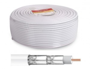 KABEL KONCENTRYCZNY OPTICUM Kabel Coaxial OPTICUM AX-L4S 120/100M CPR ECA